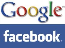 Die Internet-Giganten Google und Facebook kommen sich mit ihren Geschäftsmodellen immer häufiger in die Quere.
