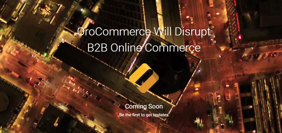 OroCommerce - coming soon (c) orocommerce.com