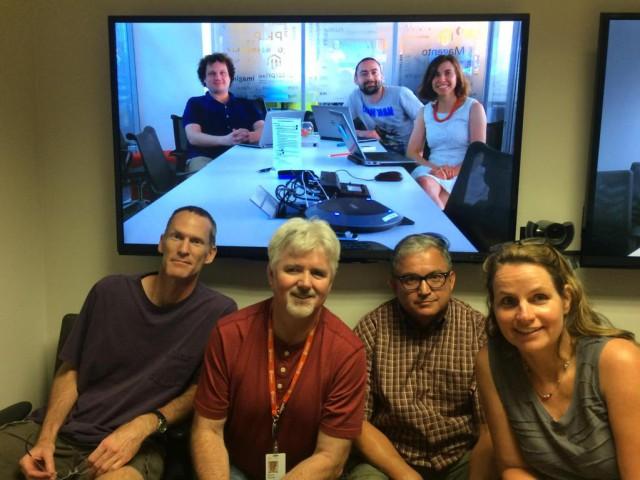 Das Magento-2-Devdocs-Team (c) Alan Kent