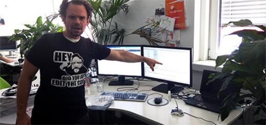 Die neuen T-Shirts mit Magento-Starlet Ben Marks sind da! (c) Anna Völkl