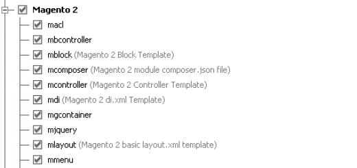 PhpStorm-Live-Templates für Magento 2