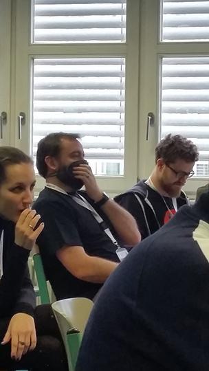 Ben hat Sprechverbot bei der Mage Unconference 2016